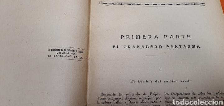 Libros antiguos: El granadero 414, Mauricio landay, el libro popular. Carot corta-cabezas. Ed. Bauzá - Barcelona 1926 - Foto 4 - 208071010