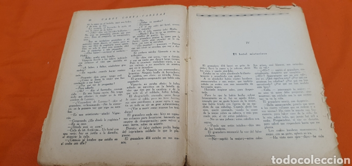 Libros antiguos: El granadero 414, Mauricio landay, el libro popular. Carot corta-cabezas. Ed. Bauzá - Barcelona 1926 - Foto 5 - 208071010