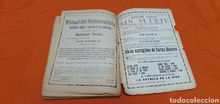 Libros antiguos: El granadero 414, Mauricio landay, el libro popular. Carot corta-cabezas. Ed. Bauzá - Barcelona 1926 - Foto 7 - 208071010