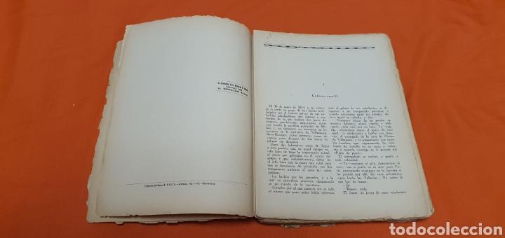 Libros antiguos: La marcha triunfal. Mauricio landay el libro popular Carot corta-cabezas. Ed. Bauzá - Barcelona 1928 - Foto 4 - 208071612