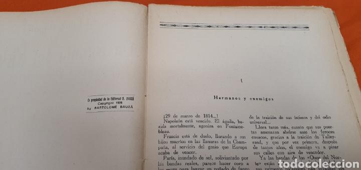 Libros antiguos: La agonía del aguila, Mauricio landay, lib. popular. Carot corta-cabezas. Ed. Bauzá - Barcelona 1928 - Foto 4 - 208072002
