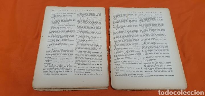 Libros antiguos: La agonía del aguila, Mauricio landay, lib. popular. Carot corta-cabezas. Ed. Bauzá - Barcelona 1928 - Foto 6 - 208072002