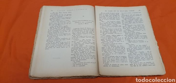 Libros antiguos: El lord de la mascara verde, Mauricio landay, popular Carot corta-cabezas. Ed. Bauzá -Barcelona 1926 - Foto 5 - 208072396