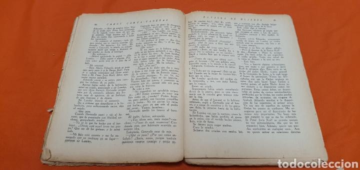 Libros antiguos: Batalla de mujeres, Mauricio landay, libro popular. Carot corta-cabezas. Ed. Bauzá - Barcelona 1927 - Foto 4 - 208072798