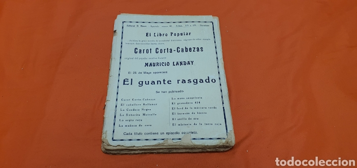 Libros antiguos: Batalla de mujeres, Mauricio landay, libro popular. Carot corta-cabezas. Ed. Bauzá - Barcelona 1927 - Foto 7 - 208072798