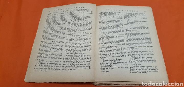 Libros antiguos: El hijo del cardenal, Mauricio landay, libro popular. Carot corta-cabezas. Ed. Bauzá -Barcelona 1927 - Foto 4 - 208073267