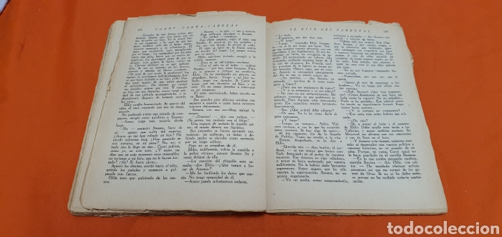 Libros antiguos: El hijo del cardenal, Mauricio landay, libro popular. Carot corta-cabezas. Ed. Bauzá -Barcelona 1927 - Foto 6 - 208073267
