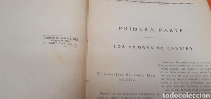 Libros antiguos: La señorita metralla, Mauricio landay, libro popular. Carot corta-cabezas. Ed. Bauzá -Barcelona 1926 - Foto 3 - 208077182