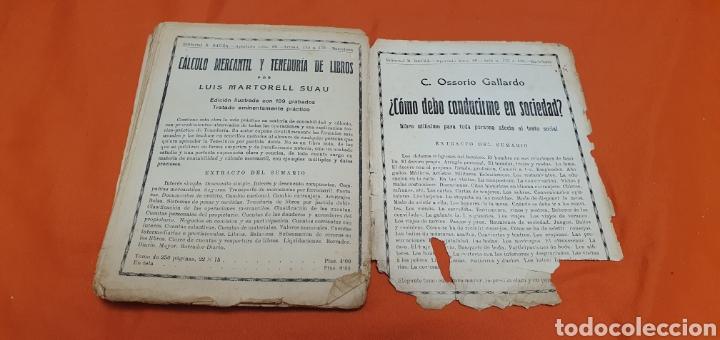Libros antiguos: La señorita metralla, Mauricio landay, libro popular. Carot corta-cabezas. Ed. Bauzá -Barcelona 1926 - Foto 6 - 208077182