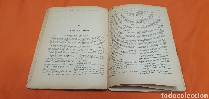 Libros antiguos: El islote maldito, Mauricio landay, libro popular. Carot corta-cabezas. Ed. Bauzá -Barcelona 1928 - Foto 5 - 208078175