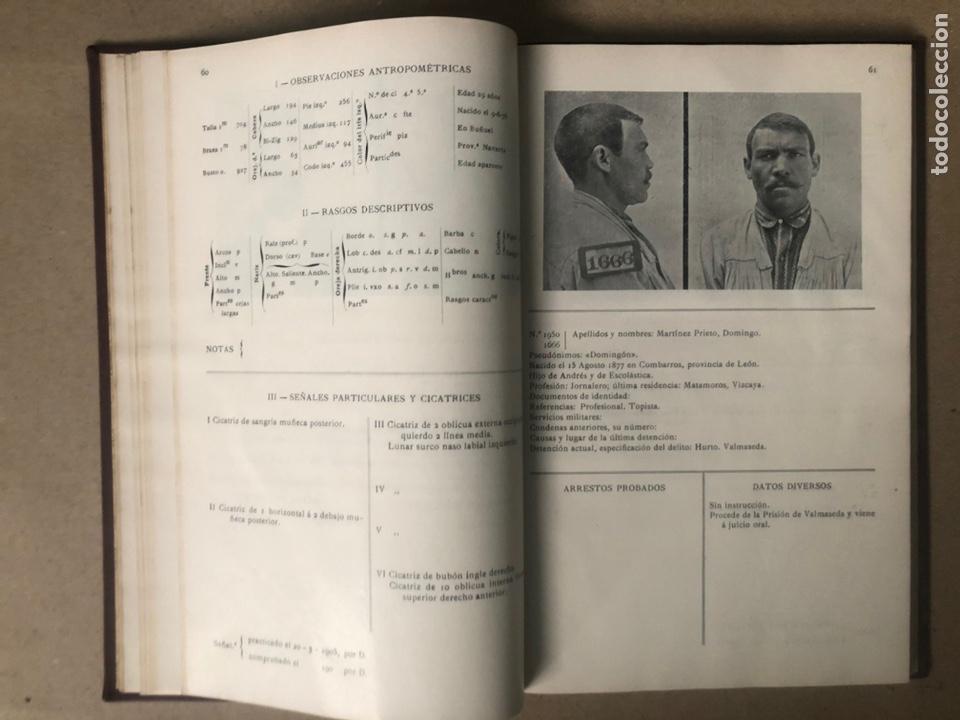 Libros antiguos: DELINCUENTES HABITUALES CONTRA LA PROPIEDAD POR J CABELLUD. TOMO VII. AÑO 1908. - Foto 7 - 208082076