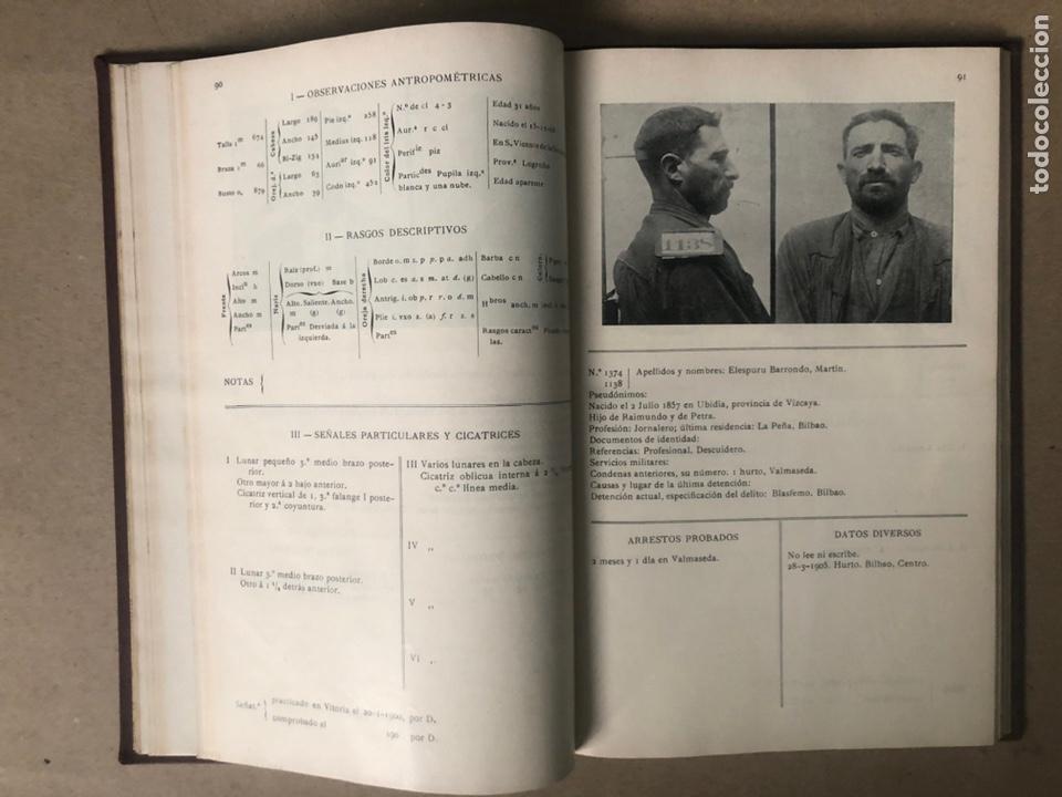 Libros antiguos: DELINCUENTES HABITUALES CONTRA LA PROPIEDAD POR J CABELLUD. TOMO VII. AÑO 1908. - Foto 8 - 208082076