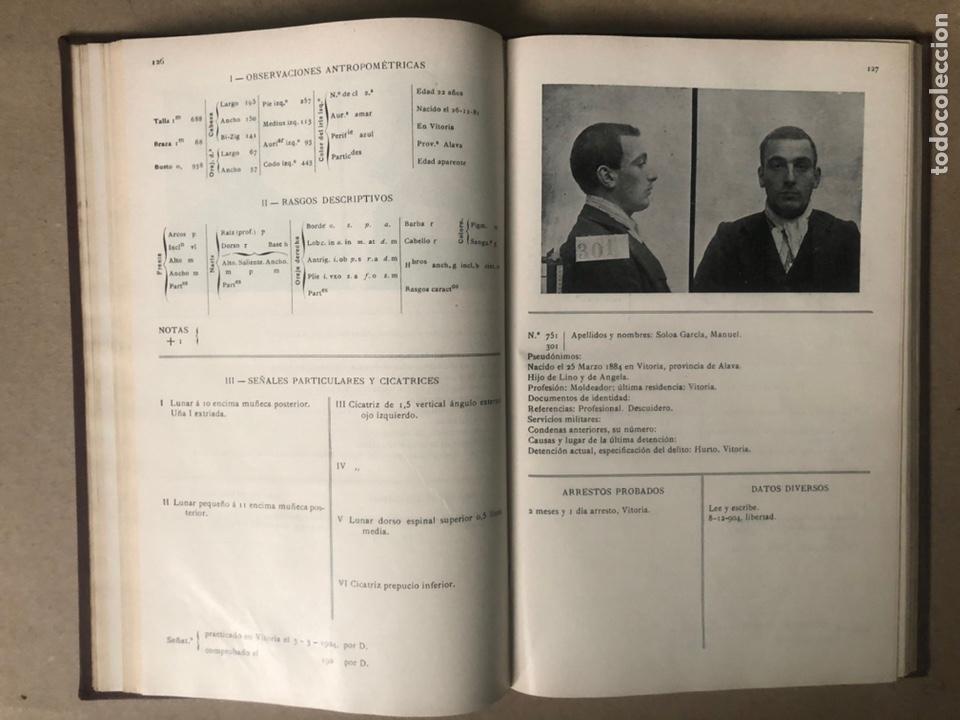 Libros antiguos: DELINCUENTES HABITUALES CONTRA LA PROPIEDAD POR J CABELLUD. TOMO VII. AÑO 1908. - Foto 9 - 208082076