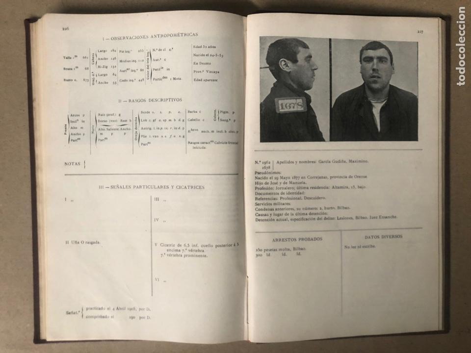 Libros antiguos: DELINCUENTES HABITUALES CONTRA LA PROPIEDAD POR J CABELLUD. TOMO VII. AÑO 1908. - Foto 11 - 208082076