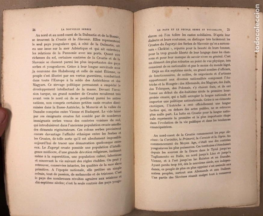 Libros antiguos: LA NOUVELLE SERBIE. GEORGES Y. DEVAS. BERGER-LEVRAULT LIBRAIRES-ÉDITEURS 1918. - Foto 3 - 208177067