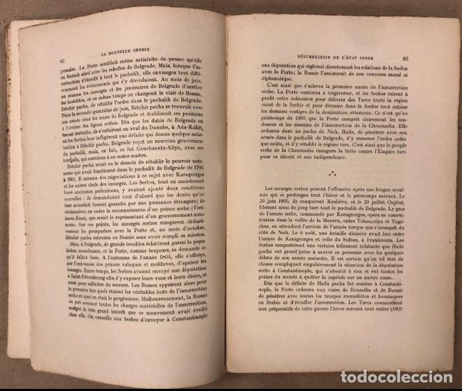 Libros antiguos: LA NOUVELLE SERBIE. GEORGES Y. DEVAS. BERGER-LEVRAULT LIBRAIRES-ÉDITEURS 1918. - Foto 4 - 208177067