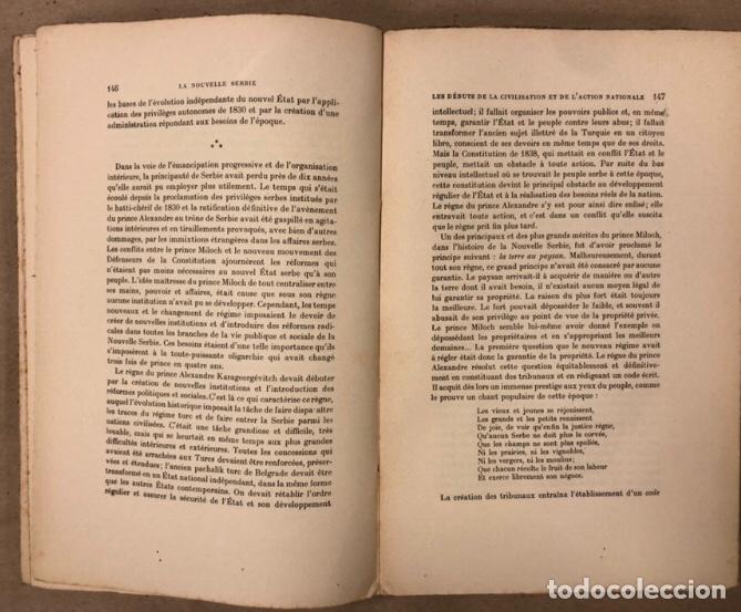 Libros antiguos: LA NOUVELLE SERBIE. GEORGES Y. DEVAS. BERGER-LEVRAULT LIBRAIRES-ÉDITEURS 1918. - Foto 6 - 208177067