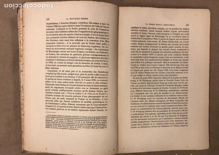 Libros antiguos: LA NOUVELLE SERBIE. GEORGES Y. DEVAS. BERGER-LEVRAULT LIBRAIRES-ÉDITEURS 1918. - Foto 8 - 208177067