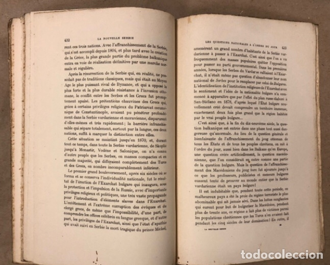 Libros antiguos: LA NOUVELLE SERBIE. GEORGES Y. DEVAS. BERGER-LEVRAULT LIBRAIRES-ÉDITEURS 1918. - Foto 9 - 208177067