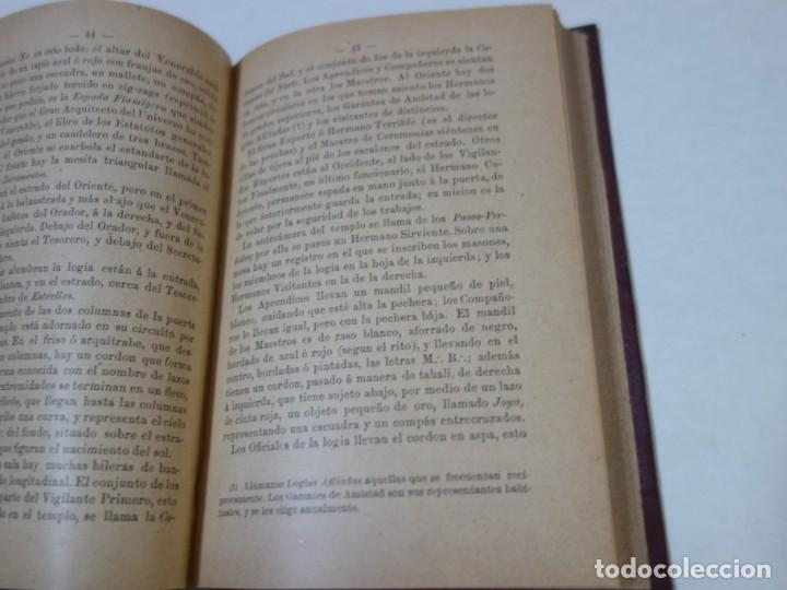 Libros antiguos: AÑO 1887- LA FRANCMASONERIA- LEO TAXIL - Foto 3 - 208180841