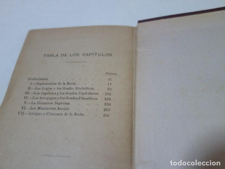 Libros antiguos: AÑO 1887- LA FRANCMASONERIA- LEO TAXIL - Foto 4 - 208180841