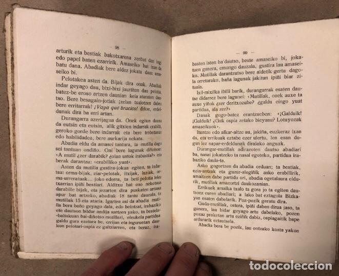 Libros antiguos: ABARRAK. BUSTINTZA'TAR EBAIDTA (KIRIKIÑO'K). GRIJELMO'REN ALARGUN-SEMIEN IRARKOLEAN 1918. EUSKARAZ. - Foto 7 - 208193327
