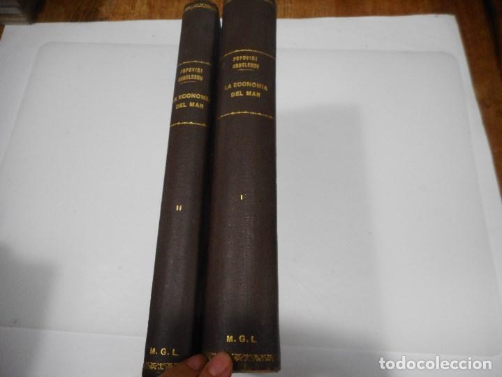 Libros antiguos: La economía del mar y sus relaciones con la alimentación de la humanidad ( 2 Tomos) Q1126WAM - Foto 4 - 208238153
