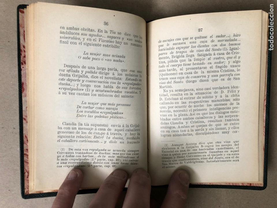 Libros antiguos: DON ISIDORO BOSARTE Y EL CENTENARIO DE LA TÍA FINGIDA, POR JULIÁN APRAIZ. IMPR. DE DOMINGO SER, 1904 - Foto 7 - 208255053