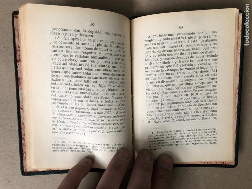Libros antiguos: DON ISIDORO BOSARTE Y EL CENTENARIO DE LA TÍA FINGIDA, POR JULIÁN APRAIZ. IMPR. DE DOMINGO SER, 1904 - Foto 8 - 208255053