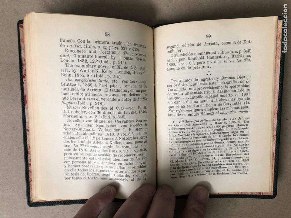 Libros antiguos: DON ISIDORO BOSARTE Y EL CENTENARIO DE LA TÍA FINGIDA, POR JULIÁN APRAIZ. IMPR. DE DOMINGO SER, 1904 - Foto 9 - 208255053