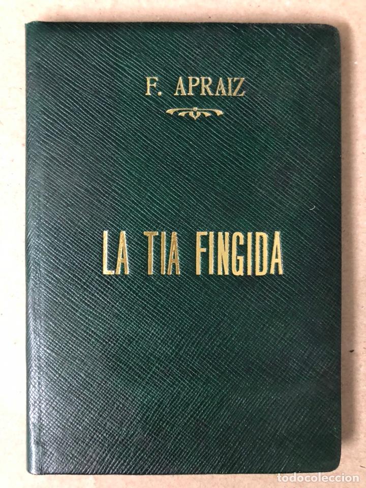 DON ISIDORO BOSARTE Y EL CENTENARIO DE LA TÍA FINGIDA, POR JULIÁN APRAIZ. IMPR. DE DOMINGO SER, 1904 (Libros Antiguos, Raros y Curiosos - Literatura - Otros)