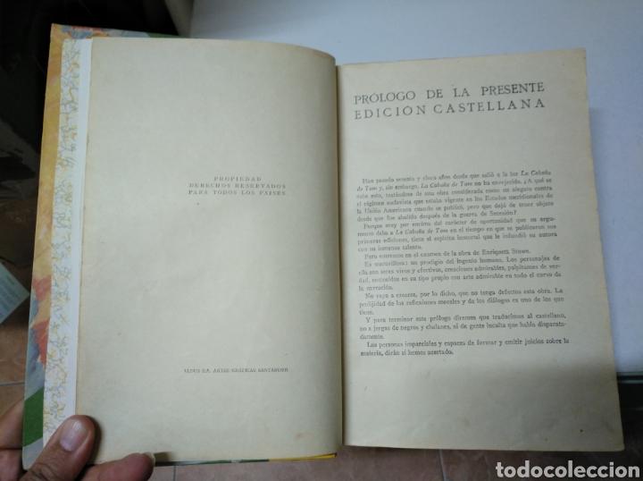 Libros antiguos: La cabaña de (del tío) Tom. O la vida entre los humildes. H. beecher stowe. Saturnino Calleja. 1917 - Foto 2 - 208275580