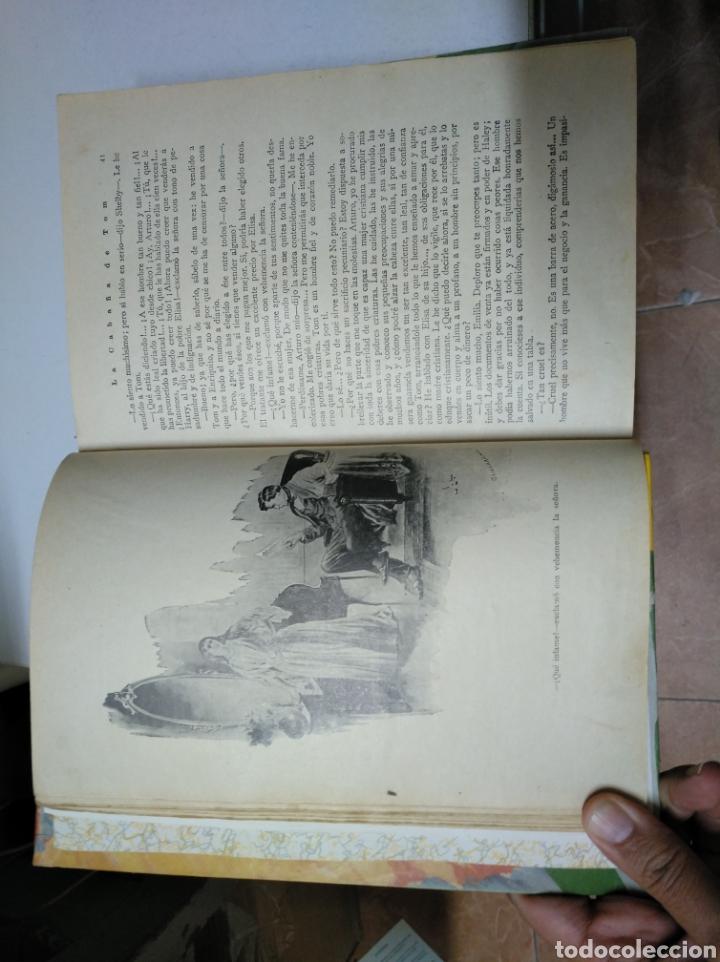 Libros antiguos: La cabaña de (del tío) Tom. O la vida entre los humildes. H. beecher stowe. Saturnino Calleja. 1917 - Foto 3 - 208275580