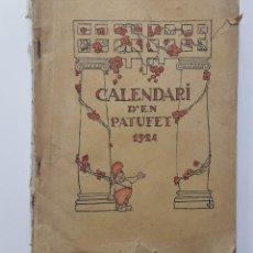 Libros antiguos: CALENDARI PATUFET 1924. Lote 208286747