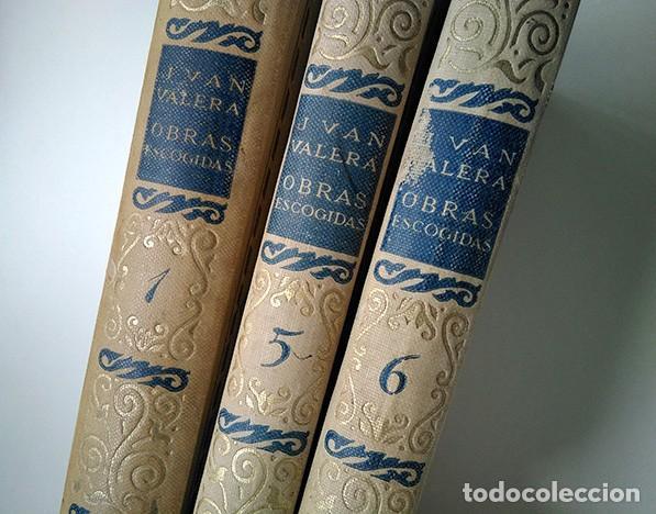 OBRAS ESCOGIDAS DE JUAN VALERA: JUANITA LA LARGA, PASARSE DE LISTO, GENIO Y FIGURA. 1925 (Libros antiguos (hasta 1936), raros y curiosos - Literatura - Narrativa - Otros)