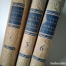 Libros antiguos: OBRAS ESCOGIDAS DE JUAN VALERA: JUANITA LA LARGA, PASARSE DE LISTO, GENIO Y FIGURA. 1925. Lote 208422935