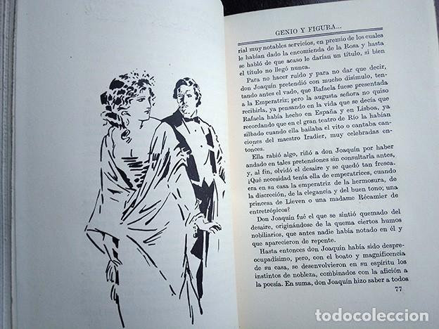 Libros antiguos: Obras Escogidas de Juan Valera: Juanita la Larga, Pasarse de Listo, Genio y Figura. 1925 - Foto 8 - 208422935