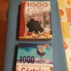 Libros antiguos: RECETAS MONJES Y LIBRO RECETAS COKTEL. Lote 208449090
