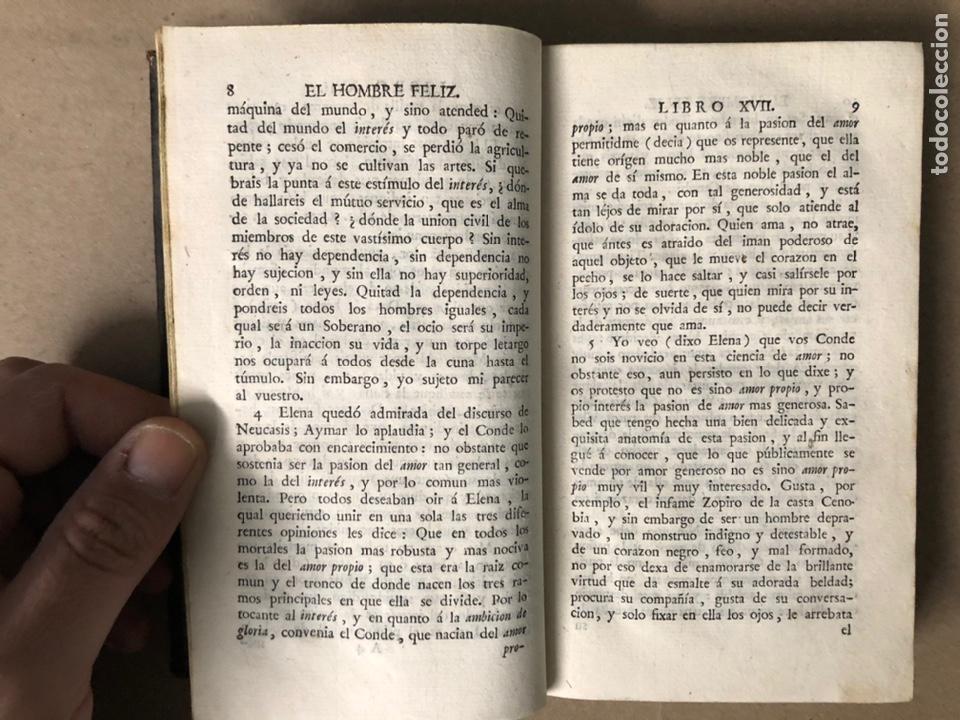 Libros antiguos: EL HOMBRE FELIZ, INDEPENDIENTE DEL MUNDO Y LA FORTUNA Ó ARTE DE VIVIR CONTENTO. TEODORO DE ALMEIDA. - Foto 6 - 208567755