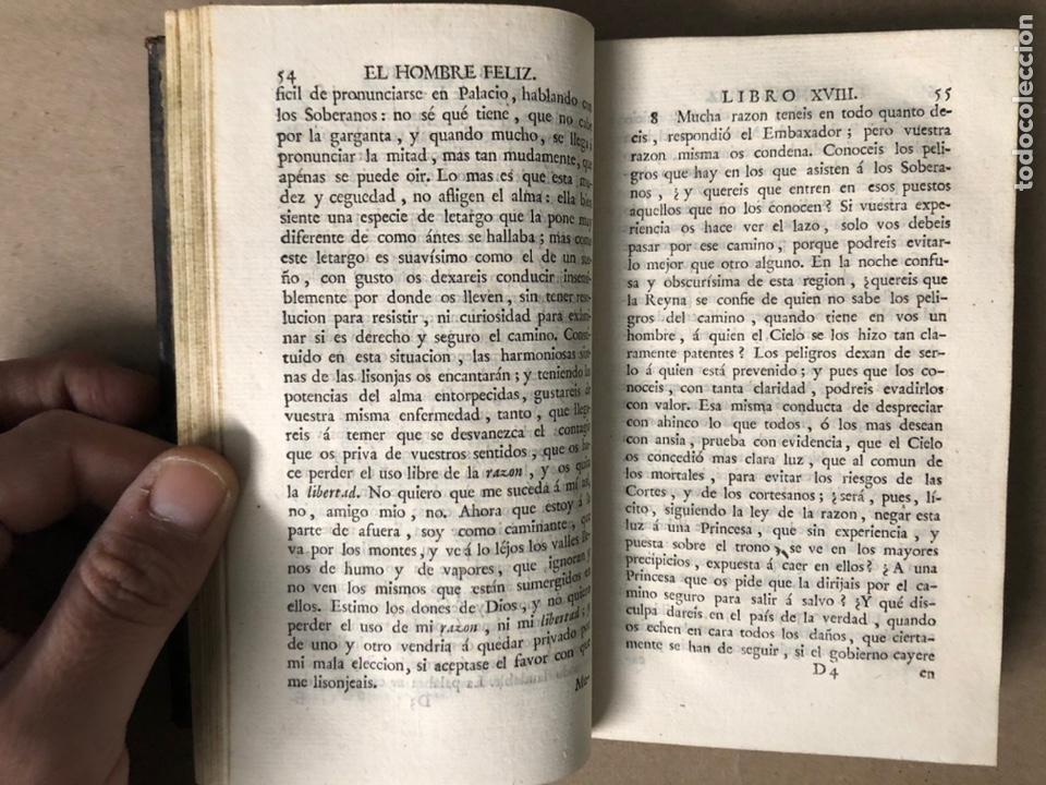 Libros antiguos: EL HOMBRE FELIZ, INDEPENDIENTE DEL MUNDO Y LA FORTUNA Ó ARTE DE VIVIR CONTENTO. TEODORO DE ALMEIDA. - Foto 7 - 208567755