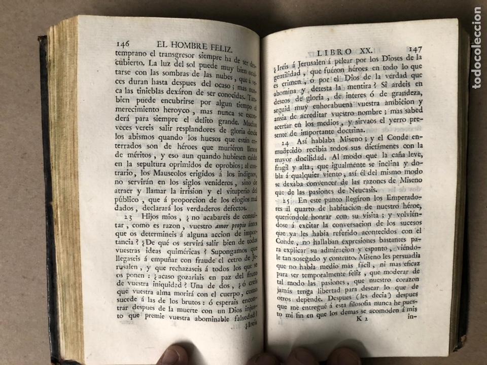 Libros antiguos: EL HOMBRE FELIZ, INDEPENDIENTE DEL MUNDO Y LA FORTUNA Ó ARTE DE VIVIR CONTENTO. TEODORO DE ALMEIDA. - Foto 9 - 208567755