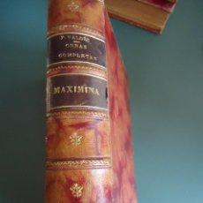 Libros antiguos: ARMANDO PALACIO VALDÉS. MAXIMINA. AÑO 1913. Lote 208592003