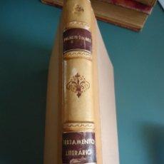 Libros antiguos: ARMANDO PALACIO VALDÉS. TESTAMENTO LITERARIO. AÑO1929. Lote 208592100