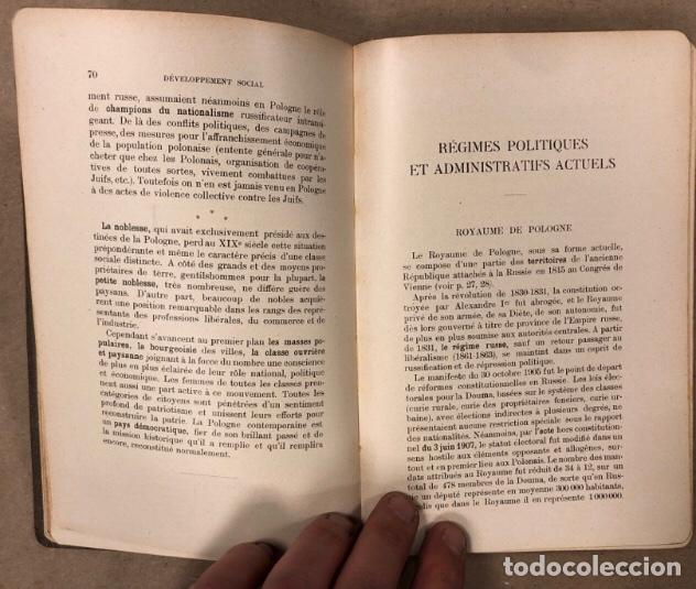 Libros antiguos: PETITE ENCYCLOPÉDIE POLONAISE. M. ERASME PILTZ. LIBRAIRIE PAYOT & Cie 1916. - Foto 5 - 208597050