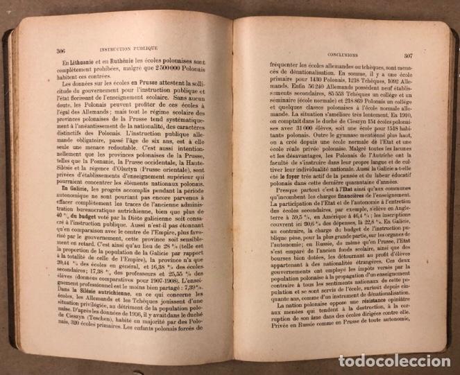 Libros antiguos: PETITE ENCYCLOPÉDIE POLONAISE. M. ERASME PILTZ. LIBRAIRIE PAYOT & Cie 1916. - Foto 7 - 208597050