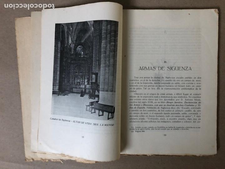 Libros antiguos: VIII CENTENARIO DE LA RECONQUISTA DE SIGUENZA POR EL PRESBÍTERO JULIÁN MORENO 1924. - Foto 4 - 208777711
