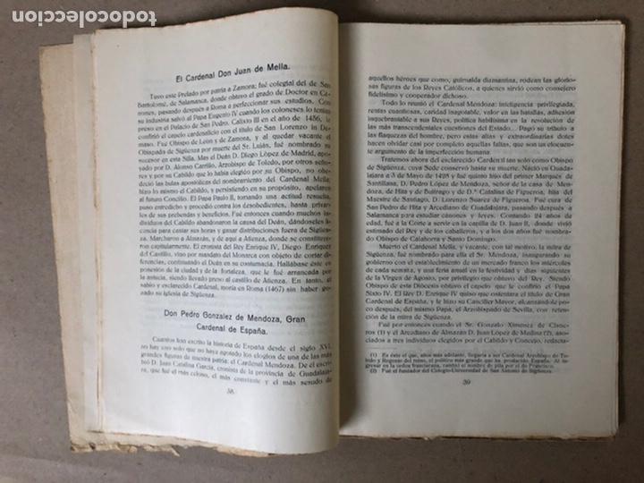 Libros antiguos: VIII CENTENARIO DE LA RECONQUISTA DE SIGUENZA POR EL PRESBÍTERO JULIÁN MORENO 1924. - Foto 5 - 208777711