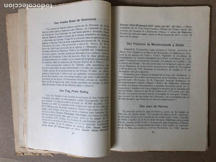 Libros antiguos: VIII CENTENARIO DE LA RECONQUISTA DE SIGUENZA POR EL PRESBÍTERO JULIÁN MORENO 1924. - Foto 6 - 208777711