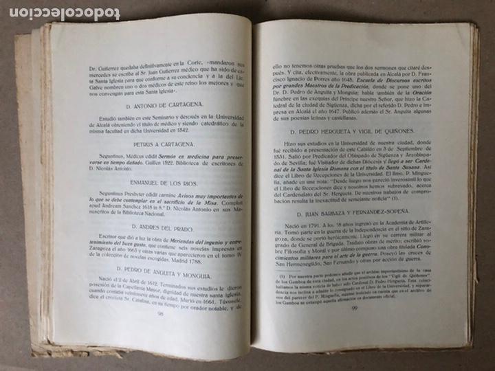 Libros antiguos: VIII CENTENARIO DE LA RECONQUISTA DE SIGUENZA POR EL PRESBÍTERO JULIÁN MORENO 1924. - Foto 8 - 208777711