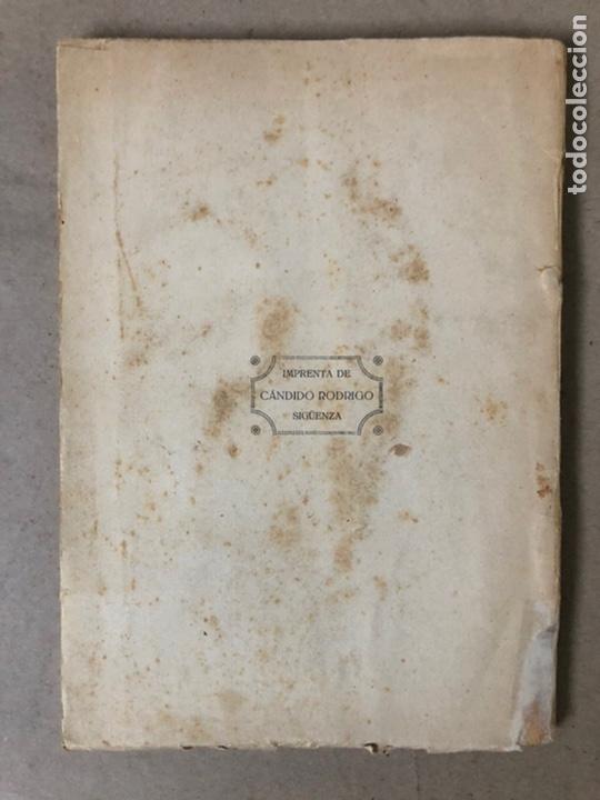 Libros antiguos: VIII CENTENARIO DE LA RECONQUISTA DE SIGUENZA POR EL PRESBÍTERO JULIÁN MORENO 1924. - Foto 12 - 208777711